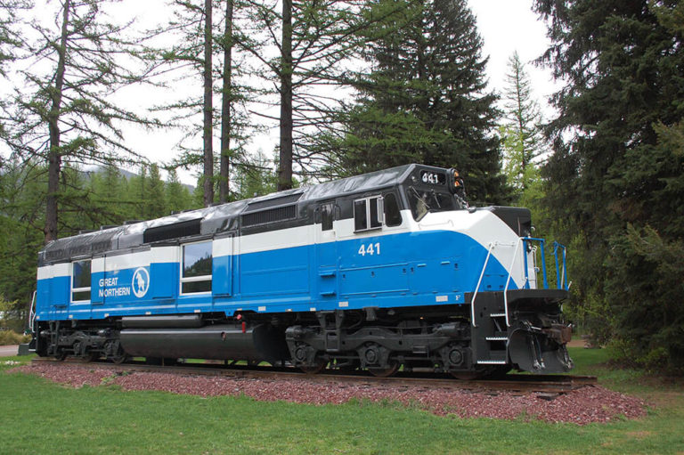 Railcar lodging at Izaak Walton Inn - Luxury Cabins Near Glacier National Park